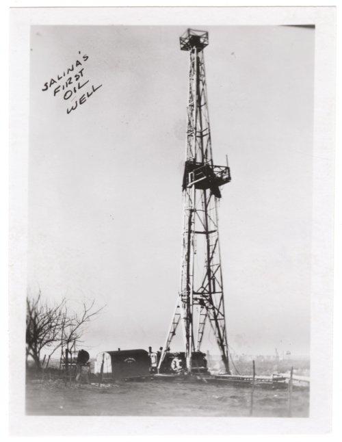 Oil Well, Salina, Kansas - Page