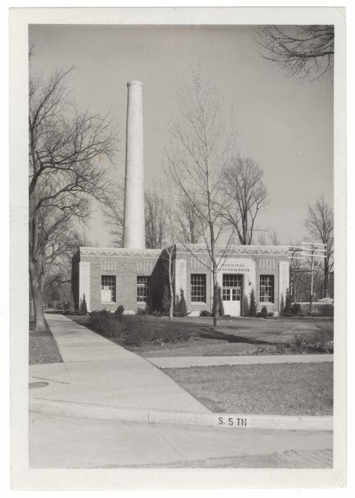Municipal waterworks, Salina, Kansas - Page