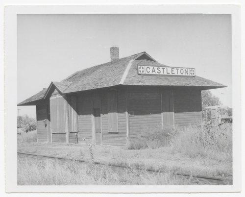 Atchison, Topeka & Santa Fe Railway Company depot, Castleton, Kansas - Page