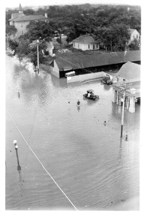 Flood scene, Salina, Kansas - Page