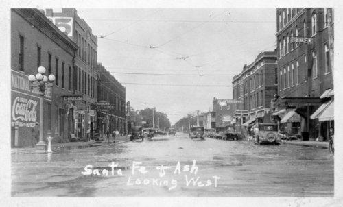 Flood scene, Salina, Kansas - Page