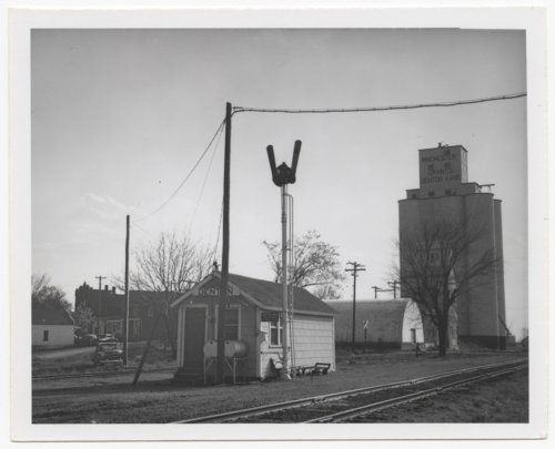 Chicago, Rock Island & Pacific Railroad box depot, Denton, Kansas - Page