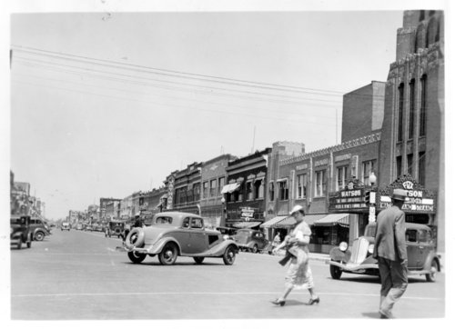 Street scene Salina, Kansas - Page