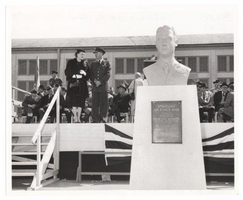 Dedication, Schilling Air Force Base, Salina, Kansas - Page