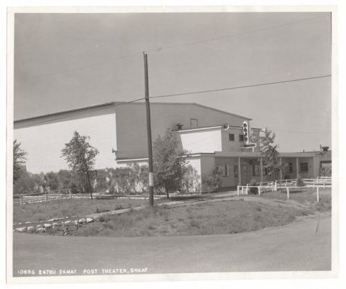 Theater, Smoky Hill Army Air Force Base, Salina, Kansas - Page