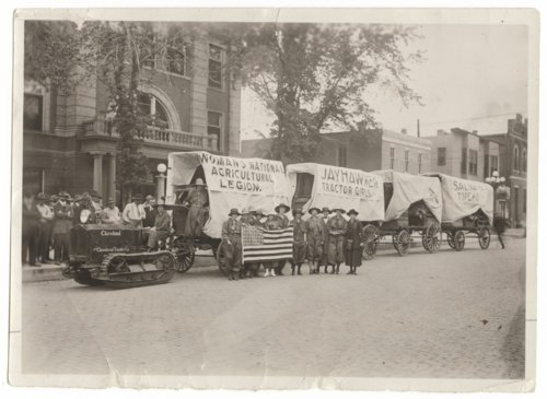 Jayhawker Tractor Girls, Salina, Kansas - Page