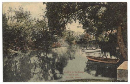 Smoky Hill River, Salina, Kansas - Page