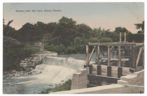 Western Star Mill Dam, Salina, Kansas - Page