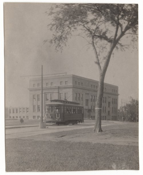 Street car at the University of Kansas - Page