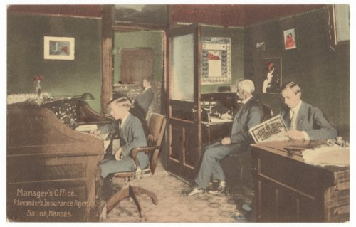Alexander's Insurance Agency, Salina, Kansas - Page