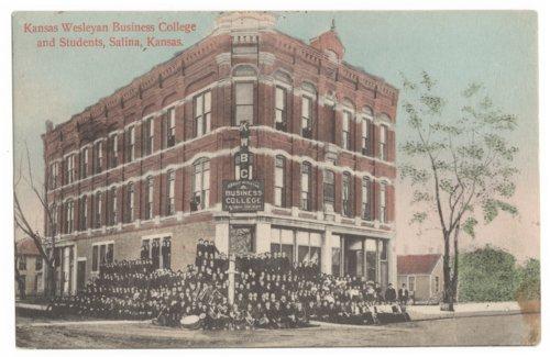 Kansas Wesleyan Business College, Salina, Kansas - Page