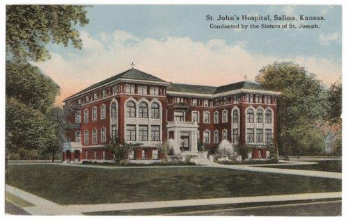 St. John's hospital, Salina, Kansas - Page