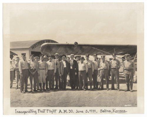Western Air Service, Salina, Kansas - Page