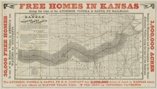 Map of Kansas - Page