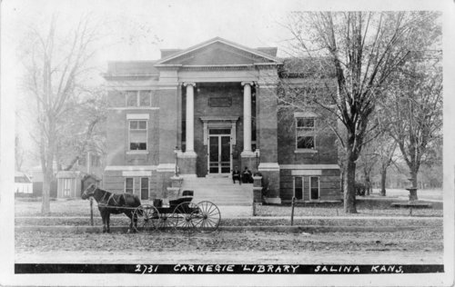 Carnegie library, Salina, Kansas - Page