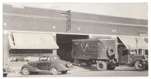 Southern Kansas Stage Lines Freight Terminal, Salina, Kansas - Page