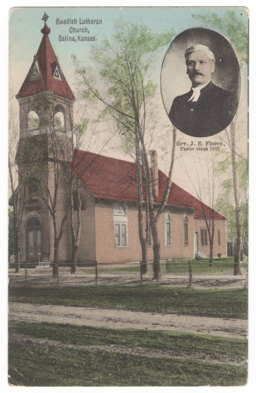 Swedish Lutheran Church, Salina, Kansas - Page