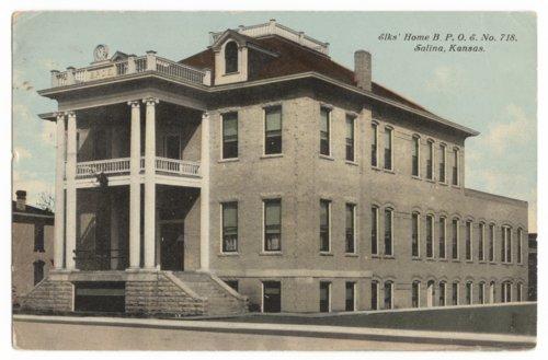 Elks' Home, Salina, Kansas - Page