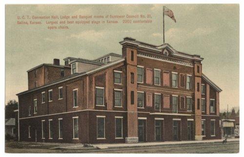 W.C.T.U Convention Hall, Salina, Kansas - Page