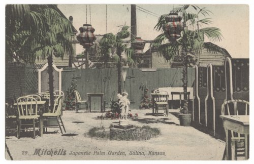 Mitchell's Japanese Palm Garden Restaurant, Salina, Kansas - Page