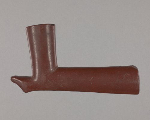 Pipestone Effigy Pipe - Page