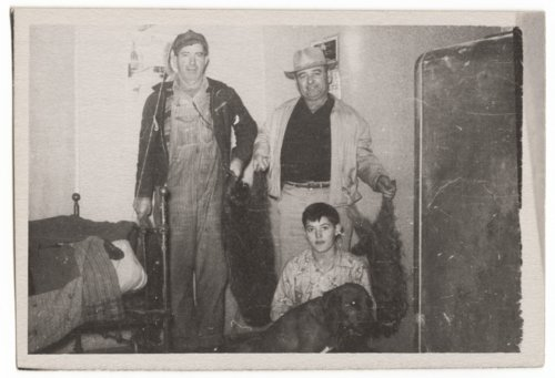 Raccoon hunt, Brownell, Kansas - Page