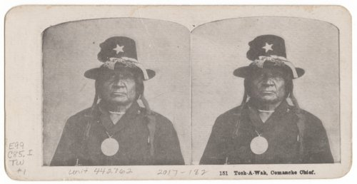 Tosh-A-Wah, Comanche Chief - Page