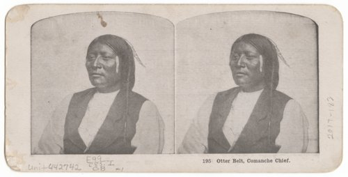 Otter Belt, Comanche Chief - Page