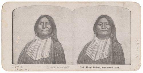 Heap Wolves, Comanche Chief - Page