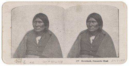 Horseback, Comanche Chief - Page