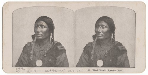 Black-Hawk, Apache Chief - Page