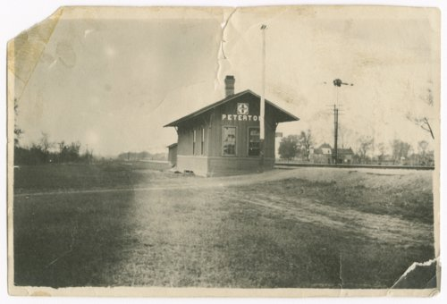 Atchison, Topeka, and Santa Fe Railway Company depot, Peterton, Kansas - Page