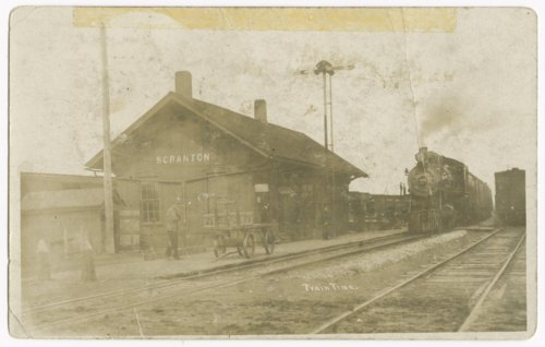 Atchison, Topeka and Santa Fe Railway Company depot, Scranton, Kansas - Page