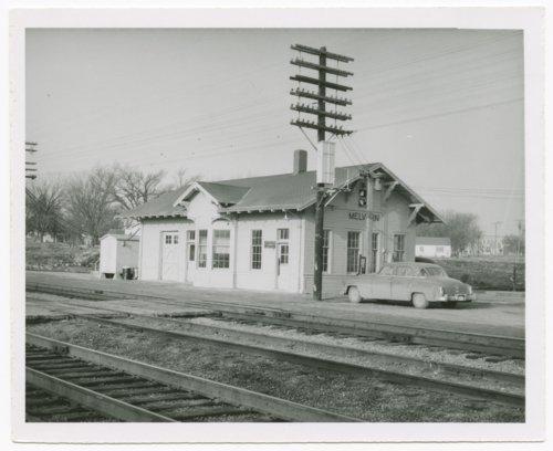 Atchison, Topeka & Santa Fe Railway Company depot, Melvern, Kansas - Page