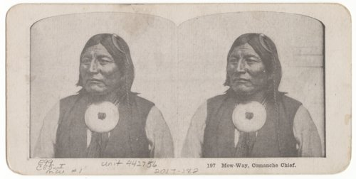 Mow-Way, Comanche Chief - Page
