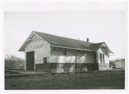 Union Pacific Railroad Company depot, Natoma, Kansas - Page