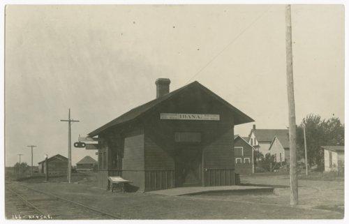 Railroad depot, Idana, Kansas - Page