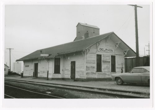 Union Pacific Railroad Company depot, Delphos, Kansas - Page