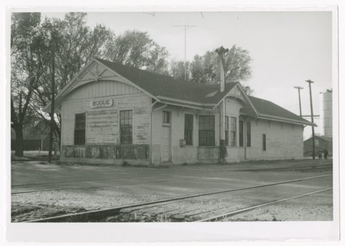 Union Pacific Railroad Company depot, Bogue, Kansas - Page