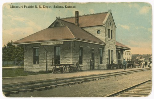 Missouri Pacific Railroad depot, Salina, Kansas - Page