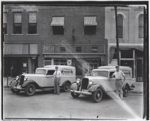 Brinkman's Bakery delivery trucks in Lawrence, Kansas - Page