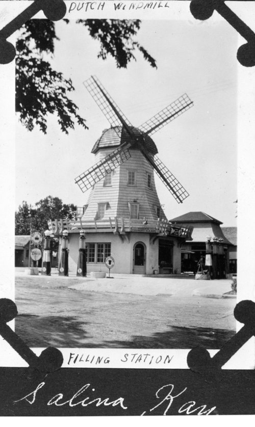 Dutch Windmill Service Station, Salina, Kansas - Page