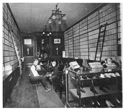 George Site's shoe store, Salina, Kansas - Page