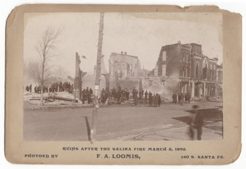Buildings destroyed by fire in Salina, Kansas - Page