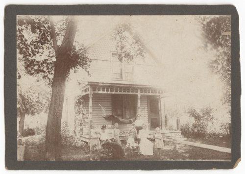 Home exterior, Emporia, Kansas - Page