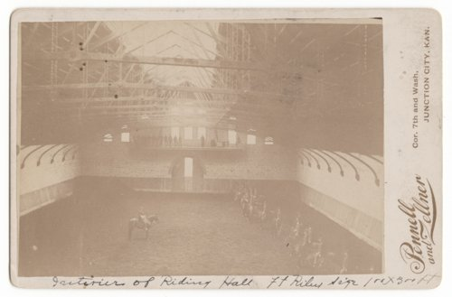 Interior of the Riding Hall at Fort Riley - Page