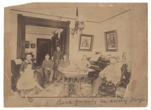 Moses Milton and Mary Beck's family in Holton, Kansas - Page