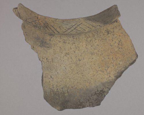Smoky Hill aspect Pottery Rim Sherd from 14SA403 - Page