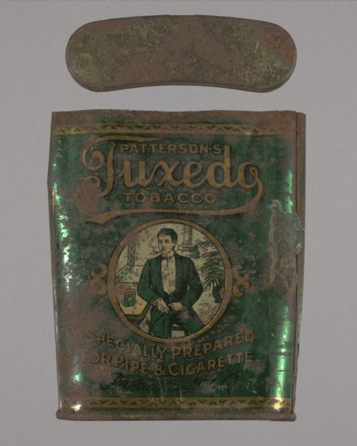 Tuxedo Tobacco Tin from the Shawnee Indian Mission, 14JO362 - Page