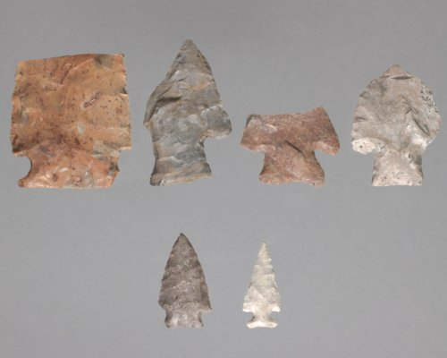 Projectile Points from the Harmon Site #2, 14LT323 - Page